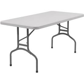 "Blow Molded Rectangular Folding Table - 30"" x 60"""