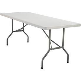 "Blow Molded Rectangular Folding Table - 30"" x 96"""