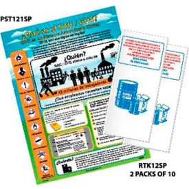 NMC HC12AS, Small GHS Training Kit with Posters & 20 Booklets - Spanish