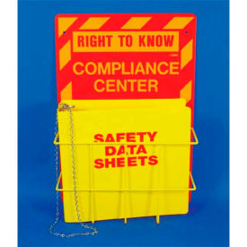 Click here to buy NMC RTK64, Right To Know Information Center, Backboard, Rack, Binder & Chain English.