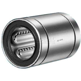"""NB Corp Stainless Steel Closed Linear Bearing SWS32, 1-1/2""""ID, 4""""L by"""