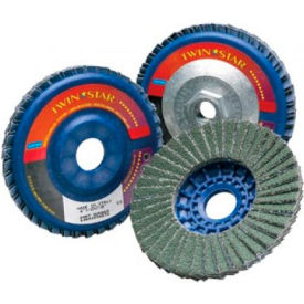 Type 27 TwinStar Flap Discs, NORTON 63642536151, Box of 5