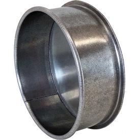 "Nordfab 3151-0800-100000 QF End Cap, 8"" Dia, Galvanized Steel"