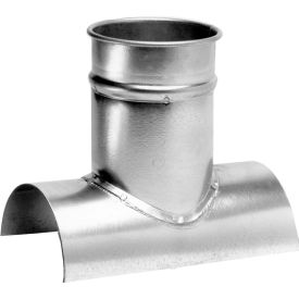 "Nordfab 3224-1410-100000 QF Tap In 14""X10"", 14"" Dia, Galvanized Steel"