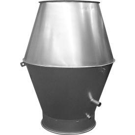 """Nordfab 3258-1600-100000 QF Jet Cap, 16"""" Dia, Galvanized Steel"""