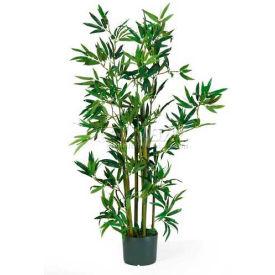 Nearly Natural 4' Bamboo Silk Plant