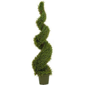 Nearly Natural 5' Rosemary Spiral Silk Tree (Indoor/Outdoor)