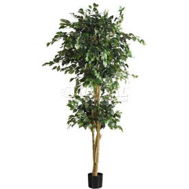 Nearly Natural 6' Double Ball Ficus Silk Tree