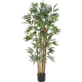 Nearly Natural 4' Multi Bambusa Bamboo Silk Tree