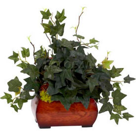 Nearly Natural Puff Ivy with Chest Silk Plant
