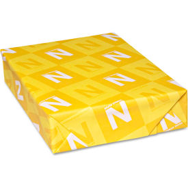 "Neenah Paper Classic Crest Stationery Writing Paper 4641, 8-1/2"" x 11"", Whitestone, 500 Sheets/Ream"