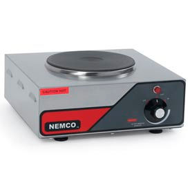 NEMCO Hot Plate Single Burner 6310-1-240 240 Volt by