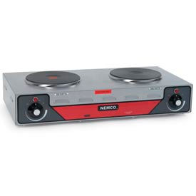 NEMCO Hot Plate Double Burner 6310-2 (Horizontal) 120 Volt by