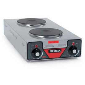 NEMCO Hot Plate Double Burner 6310-3-240 (Vertical) 240 Volt by
