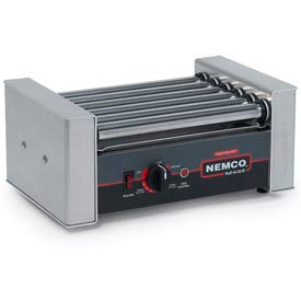 NEMCO® 8010SX, Roll-A-Grill, Stainless Steel/Aluminum, 10 Hot Dogs, 120 Volt