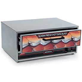 NEMCO® 8045N-BW-220, Bun Warmer, Stainless Steel, 32 Buns