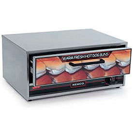 NEMCO® 8045N-BW, Bun Warmer, Stainless Steel, 32 Buns