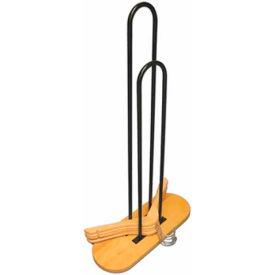 NAHANCO 101N-WD Hanger Stacker, Metal-Natural, Pkg Qty 1