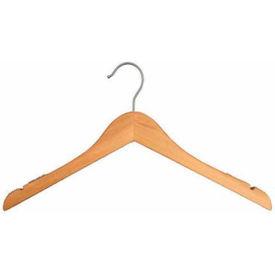 "NAHANCO 20014 Top Hanger-Flat, 14""L, Wood-Natural, Pkg Qty 100"
