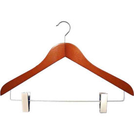 "NAHANCO 2007-16C Coordinate Hanger-Executive Series, 17""L, Wood-CY, Pkg Qty 50"