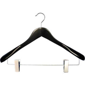 "NAHANCO 2007-19B Coordinate Hanger-Executive Flare, 17""L, Wood-BK, Pkg Qty 25"