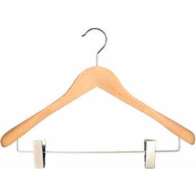 "NAHANCO 2007-19N Coordinate Hanger-Executive Flare, 17""L, Wood-Natural, Pkg Qty 25"