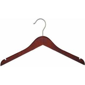 "NAHANCO 20312 Top Hanger-Flat, 12""L, Wood-Mahogany, Pkg Qty 100"