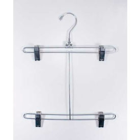 "NAHANCO bsh12-50 Bikini Hanger W/Chrome Drop, 12""L, Metal-Chrome, Pkg Qty 50"