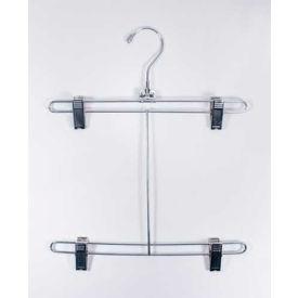 "NAHANCO bsh12-50 Bikini Hanger W/Chrome Drop, 12""L, Metal-Chrome, Pkg Qty 50"