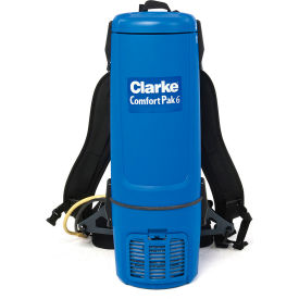 Clarke Comfort Pak 6 Qt. with Tool Kit Backpack Vacuum 9060610010 by