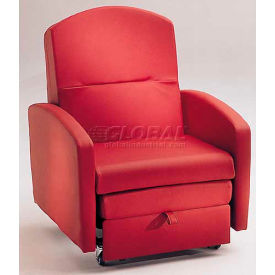 NK Medical Sleeper Chair, With Padded Arms, Tea Rose