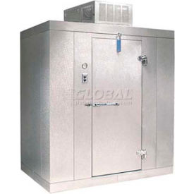 "Nor-Lake Kold Locker - KLB7766-CL Indoor Cooler, +35°F, Floor, LH Door 72""W x 72""D x 91""H"
