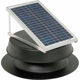 Natural Light Energy Systems SAF20B Roof Mounted Solar Attic Fan - 20 Watts