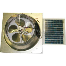 Natural Light Energy Systems SAFG Solar Attic Fan 10 Watt Gable Mount