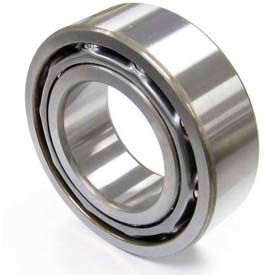 NACHI, 5208-2NS, Double Row Angular Contact Bearing, Double Sealed, 40MM Bore x 80MM OD x 30.2MM W