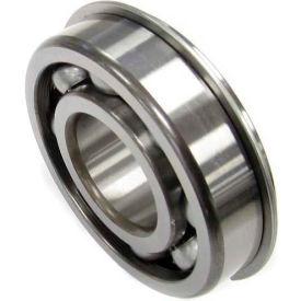 Nachi Radial Ball Bearing 6204nr, Open W/Snap Ring, 20mm Bore, 47mm Od - Min Qty 13