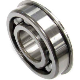 Nachi Radial Ball Bearing 6216NR, Open W/Snap Ring, 80MM Bore, 140MM OD