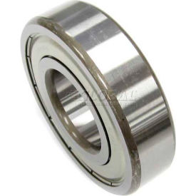 Nachi Radial Ball Bearing 6302zz, Double Shielded, 15mm Bore, 42mm Od - Min Qty 14