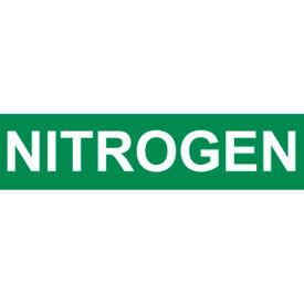 Pressure-Sensitive Pipe Marker - Nitrogen, Pack Of 25