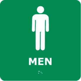 Graphic Braille Sign - Men - Gray