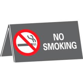 No Smoking Desk Sign