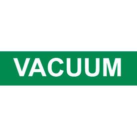 Pressure-Sensitive Pipe Marker - Vacuum, Pack Of 25