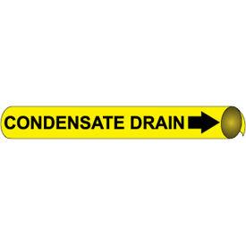 Precoiled and Strap-on Pipe Marker - Condensate Drain