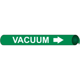 Precoiled and Strap-on Pipe Marker - Vacuum