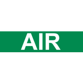Pressure-Sensitive Pipe Marker - Air, Pack Of 25