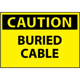 Machine Labels - Caution Buried Cable