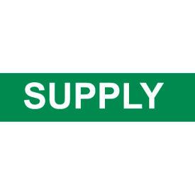 Pressure-Sensitive Pipe Marker - Supply, Pack Of 25