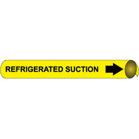 Precoiled and Strap-on Pipe Marker - Refrigerated Suction