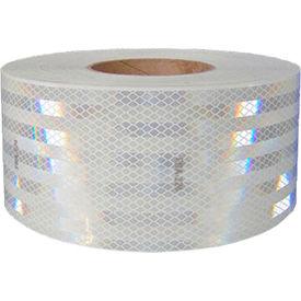 "NMC CT2W Conspicuity Reflective Tape, White, 2""W x 150'L, 1 Roll"