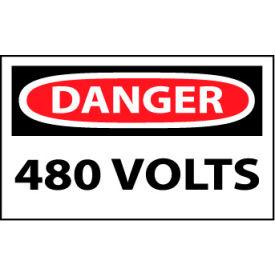 Machine Labels - Danger 480 Volts